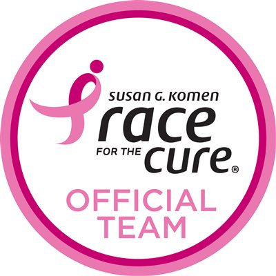 Susan G. Komen Official Race Team Round Logo