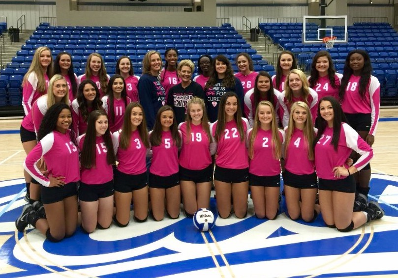 The CHS Lady Cats Volleyball Team & Coaches